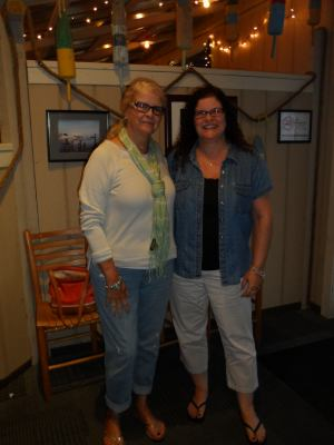 Shelly and I  in Outer Banks