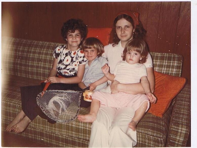 Me and my kids in the late 70's